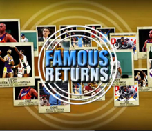 Famous Returning Players