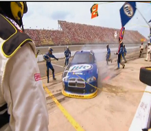 NASCAR on TNT Bumps and Rollouts