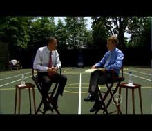 President Obama NBA Feature