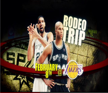 Spurs Rodeo Road Trip Game Element