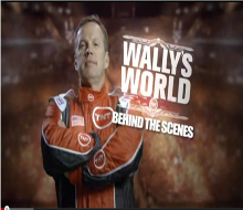 Wally's World Behind the Scenes